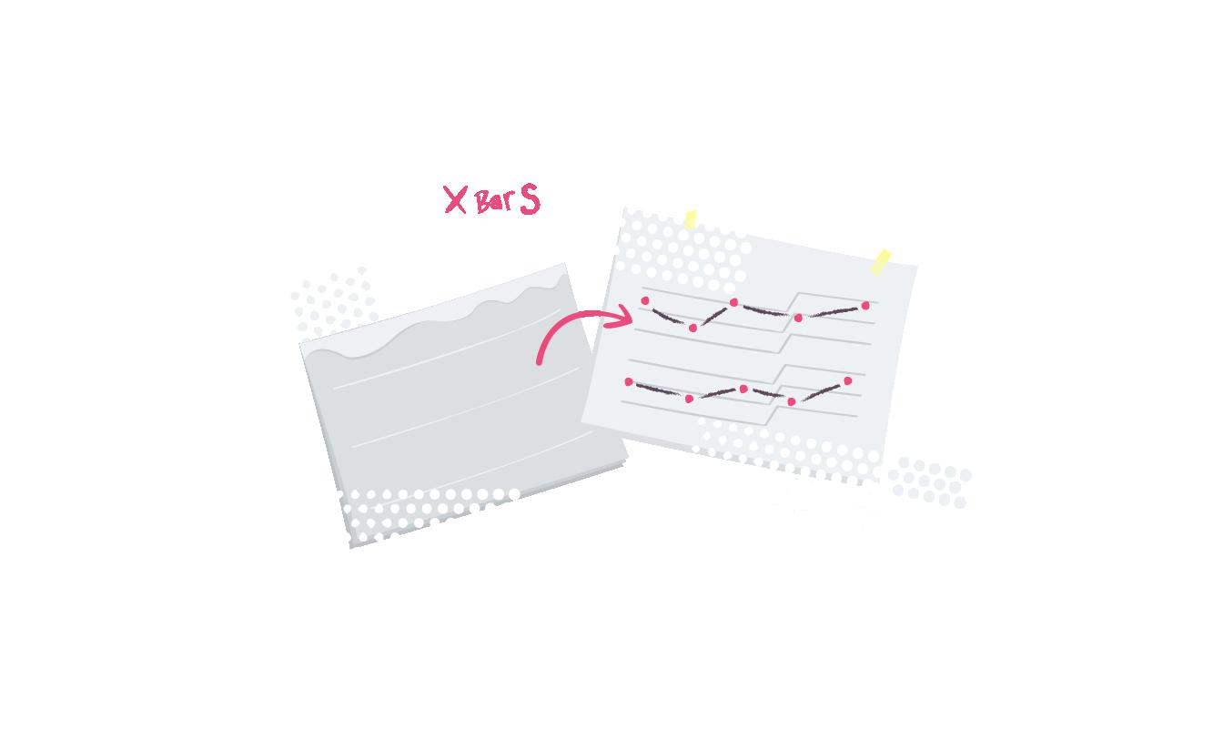 X bar S chart
