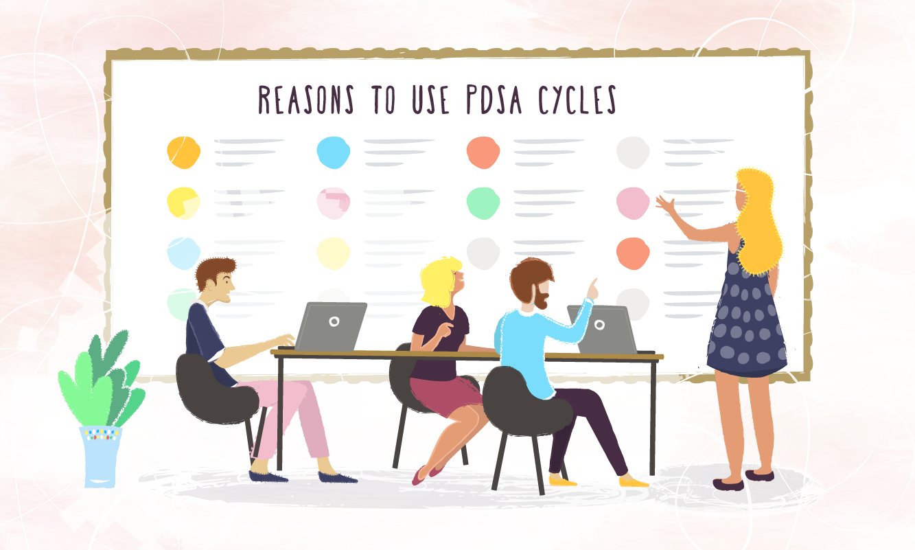 Reasons to use a PDSA cycle in your work environment