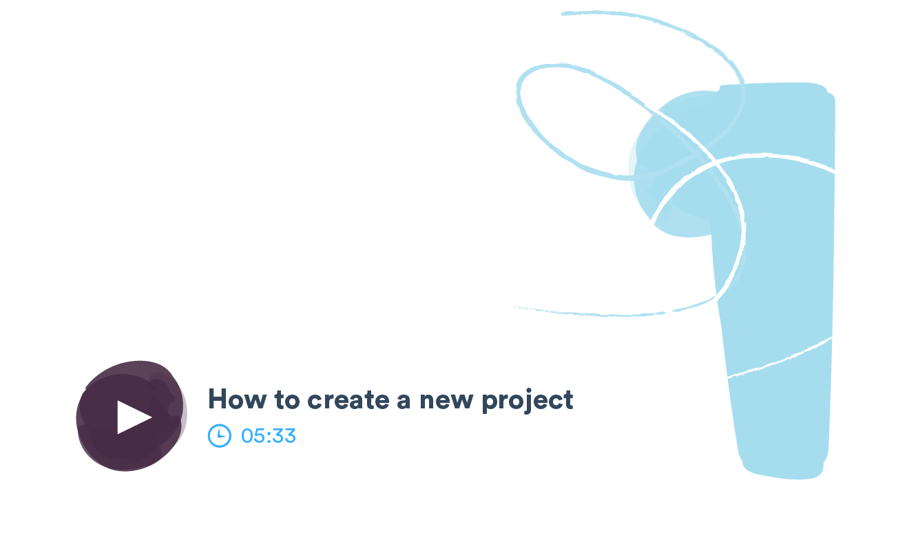 Start a Project tutorial